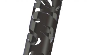 Tube «AUDE» en Inox 1250mm x 42mm de diamètre