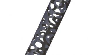 Tube «SYLVIE» en Inox 1250mm x 42mm de diamètre