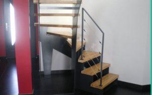 Escalier tournant sur mesure